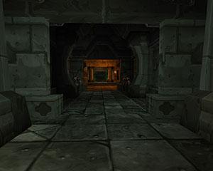 这里位于黑石山脉黑石塔的上层,某一个岔路指向这个绿色的副本入口