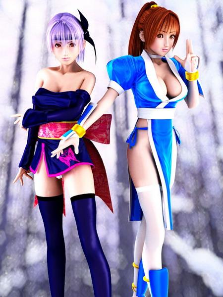 超性感3D游戏美眉全收藏_CG同人_游戏_腾讯