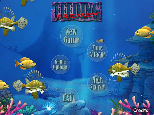 小游戏:海底吞食鱼