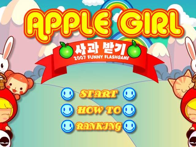 小游戏:苹果女郎