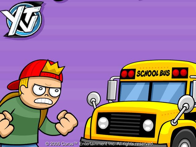 学生追班车