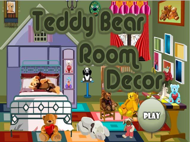 小游戏:泰迪熊的家