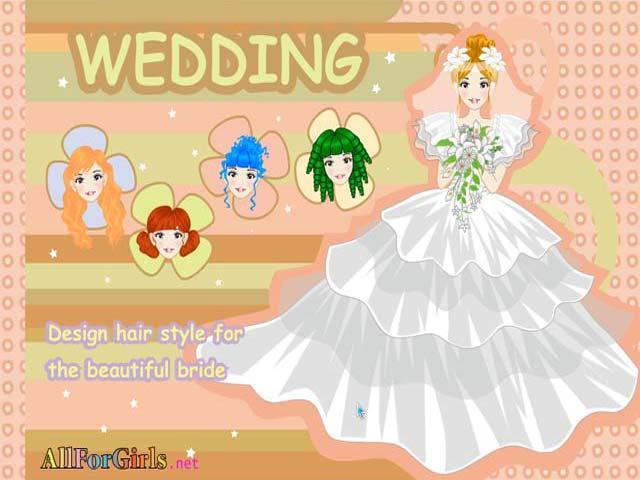 婚礼发型师
