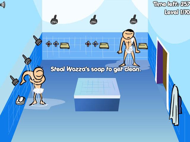 洗澡偷香皂