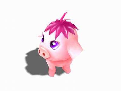 《魔域》近日最新推出超级可爱猪幻兽