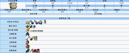 [冒险岛]台湾版神木村新怪怪物图鉴