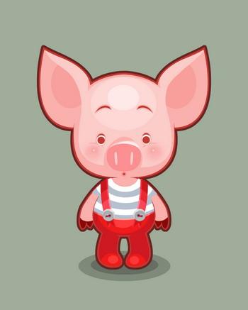 宠物猪qq头像