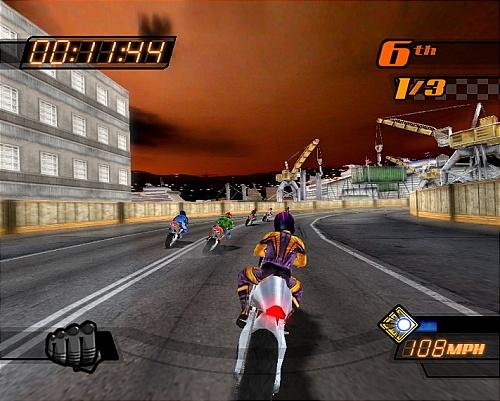 《jacket暴力摩托2006》爽快竞速试玩