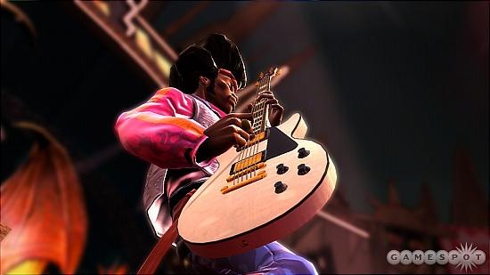 《吉他英雄3摇滚传奇》火爆劲乐试玩