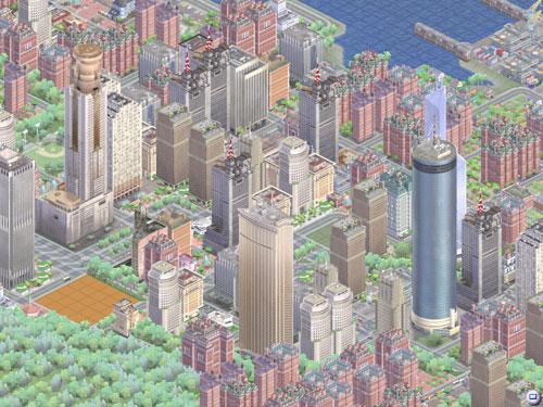 城市局部在线预览 电脑生涯 游戏人生 我的搜狐