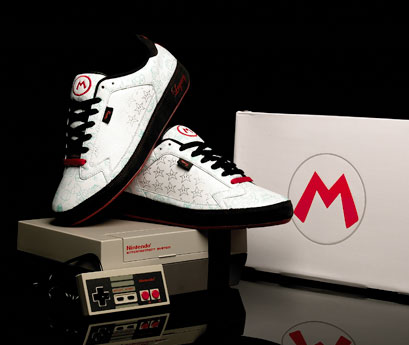 国外运动鞋品牌run athletics与任天堂公司合作