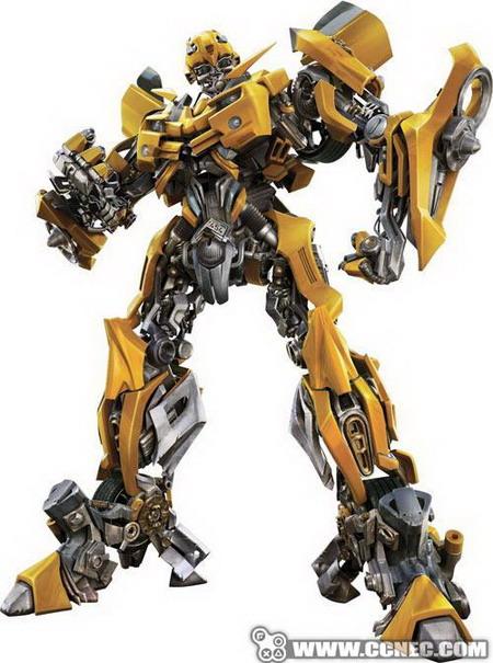 《变形金刚》中的大黄蜂高清图片