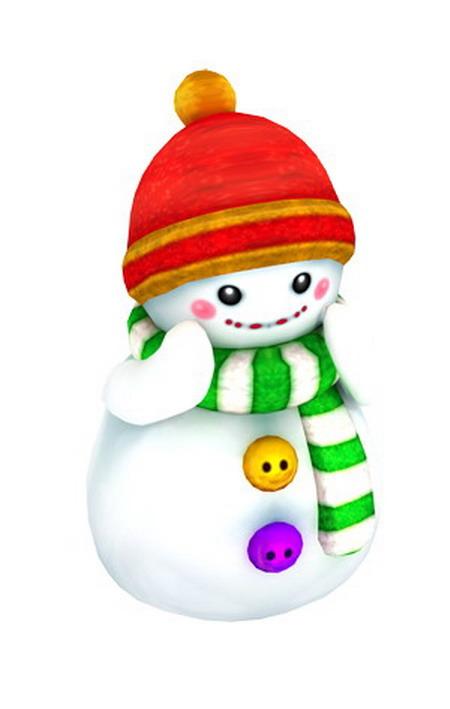 与我们可爱的雪娃娃一起共舞,跳出一首《冬季恋歌》是不是早有期待了