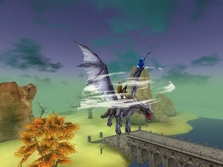 网游《龙骑士Online》风之叹息银月龙