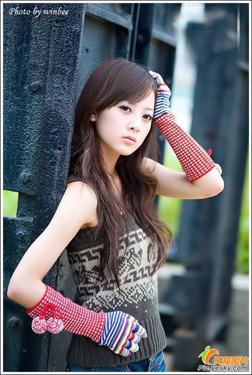 台湾网络人气美少女:果子 玩家写真 游戏