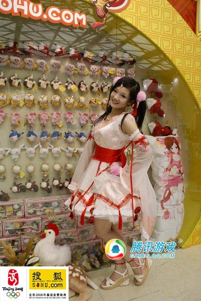 chinajoy美女:搜狐可爱美眉胡洁琼连拍