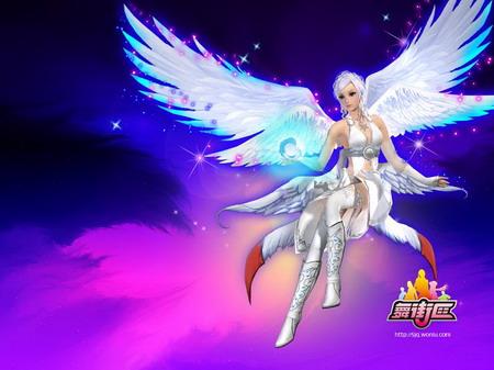 可爱天使恶魔手机壁纸