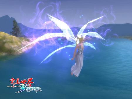 完美世界羽灵_《完美世界》天使在人间 初次识羽灵