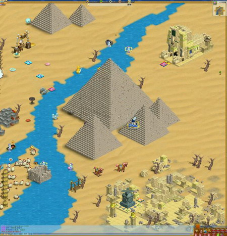 古罗马神殿,古埃及金字塔,中世纪欧洲古堡,中式阁楼和四合院,集合了