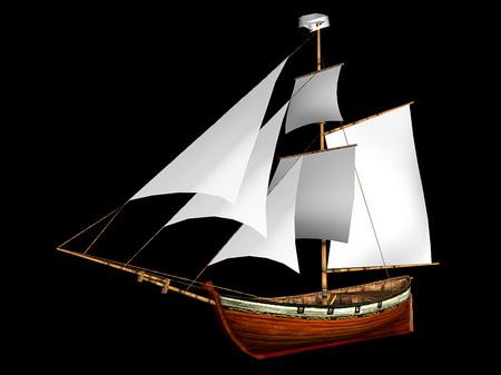 3d航海模型diy