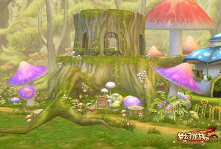 类似超级玛丽《梦幻龙族》超萌蘑菇村