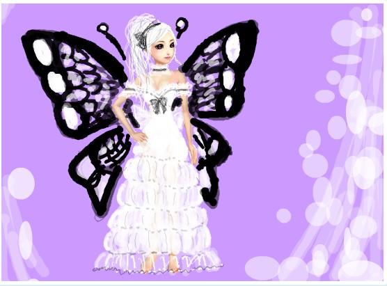 炫舞房间背景蝴蝶素材
