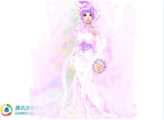 服装设计大赛 小莎莎涂鸦可爱的q版人物_[qq炫舞]新闻