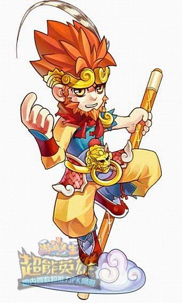 有威风潇洒的美猴王孙悟空,有优雅可爱的小提琴绅士,有造型惊人的血