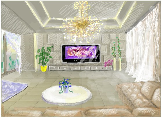 qq炫舞创意3d房间涂鸦大赛 精品展