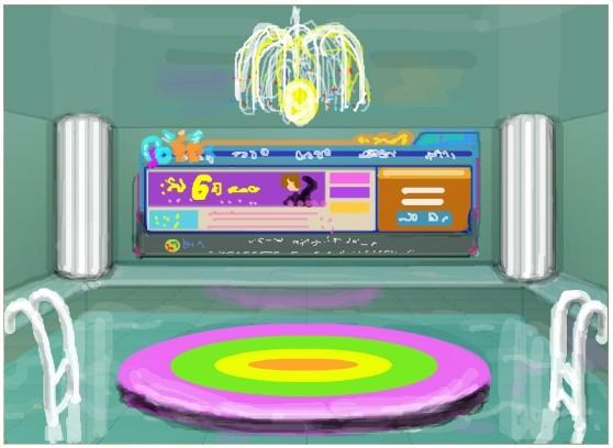 创意梦幻——qq炫舞3d房间涂鸦作品秀