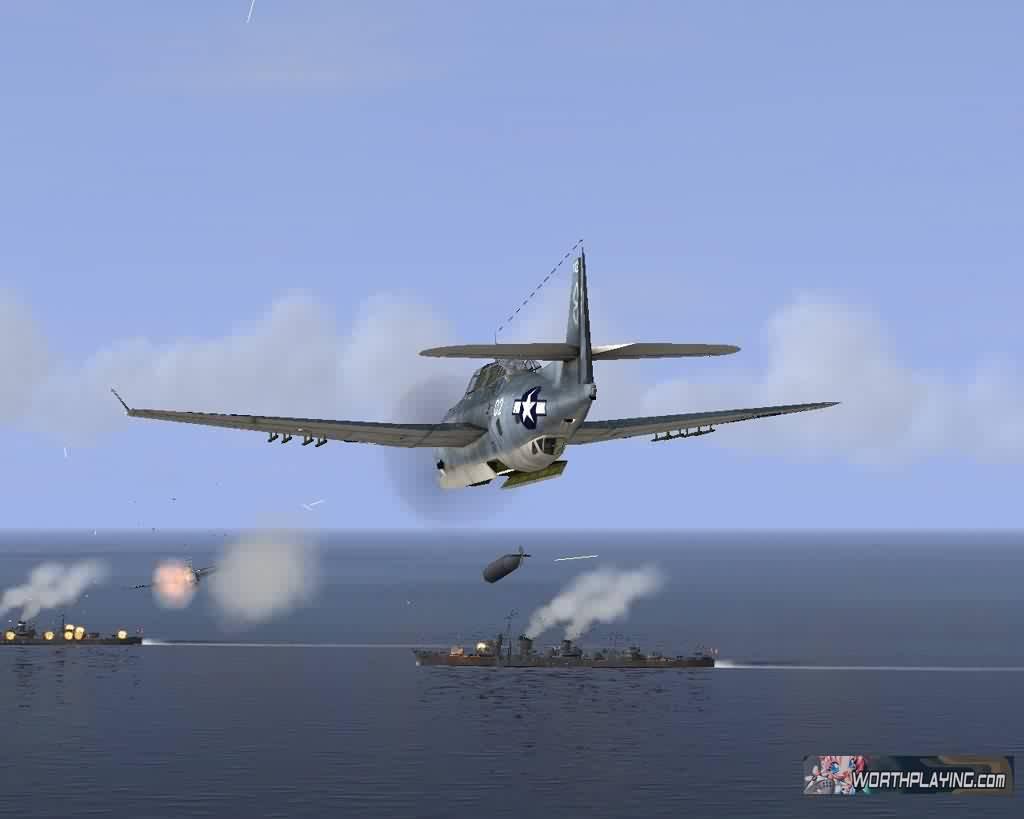 游戏中提供40款真实飞机,16幅新地图,包括瓜达康纳尔岛,珍珠港和
