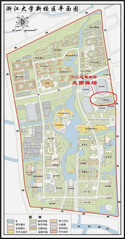 新浦校区平面图