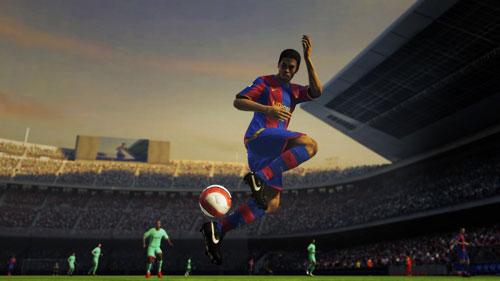 《fifa 2009》英文版抢先试玩_06游戏试玩
