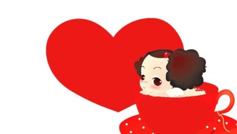 psp主机专用超级可爱的韩国娃娃壁纸
