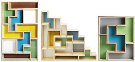 俄罗斯方块书架售价高达1500美元(图)