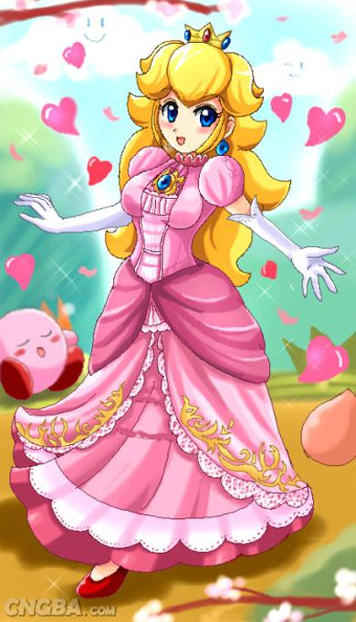 海外玩家所绘碧奇公主画像