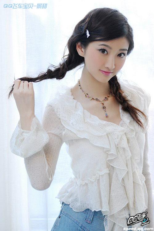 《QQ飞车》宝贝景甜 清纯印象 明星代言