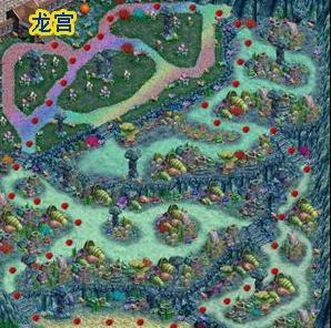 地图名称  龙宫 说明 包括海底迷宫