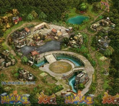 游戏城市地图素材
